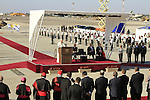 Israel, Pope Francis  speaks at the Welcoming Ceremony in Ben Gurion Airport