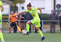 20191123 – BRUGGE, BELGIUM : Gent's Jassina Blom pictured during a women soccer game between Dames Club Brugge and K AA Gent Ladies on the ninth matchday of the Belgian Superleague season 2019-2020 , the Belgian women's football  top division , saturday 23 th November 2019 at the Jan Breydelstadium – terrain 4  in Brugge  , Belgium  .  PHOTO SPORTPIX.BE | DAVID CATRY