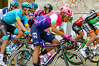 LA UNION - COLOMBIA, 16-02-2019: Taylor Phinney (USA), Team EF Education First - DRAPAC, durante la quinta etapa del Tour Colombia 2.1 2019 con un recorrido de 176.8 Km, que se corrió con salida y llegada en La Union, Antioquia. / Taylor Phinney (USA), Team EF Education First - DRAPAC, during the fifth stage of 176.8 km of Tour Colombia 2.1 2019 that ran with start and arrival in La Union, Antioquia.  Photo: VizzorImage / Anderson Bonilla / Cont