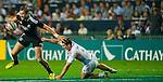 New Zealand play France on Day 1 of the Cathay Pacific / HSBC Hong Kong Sevens 2013 at Hong Kong Stadium, Hong Kong. Photo by Aitor Alcalde / The Power of Sport Images