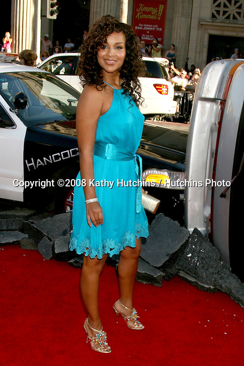 """LisaRaye arriving at Grauman's Chinese Theater for  the premiere of """"Hancock"""" in Los Angeles, CA on.June 30, 2008.©2008 Kathy Hutchins / Hutchins Photo ."""