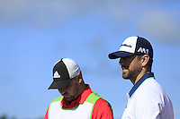 Green Bay Packers NFL quarterback Aaron Rodgers on the 7th tee at Pebble Beach Golf Links during Saturday's Round 3 of the 2017 AT&amp;T Pebble Beach Pro-Am held over 3 courses, Pebble Beach, Spyglass Hill and Monterey Penninsula Country Club, Monterey, California, USA. 11th February 2017.<br /> Picture: Eoin Clarke | Golffile<br /> <br /> <br /> All photos usage must carry mandatory copyright credit (&copy; Golffile | Eoin Clarke)