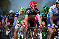 E3 Prijs Harelbeke 2012.Philippe Gilbert on the Holleweg