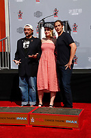 LOS ANGELES - OCT 14:  Kevin Smith, Harley Quinn Smith, Jason Mewes at the Kevin Smith And Jason Mewes Hand And Footprint Ceremony at the TCL Chinese Theater on October 14, 2019 in Los Angeles, CA