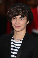 George Shelley from Union J arriving for the I Can't Sing Press Night, at the Paladium, London. 26/03/2014 Picture by: Alexandra Glen / Featureflash