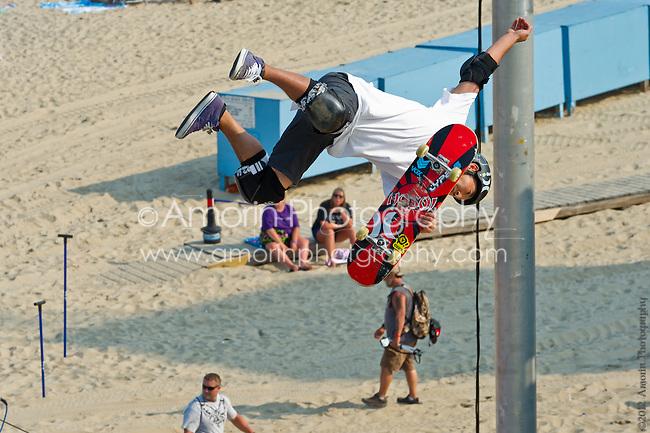 The Pantech Dew Tour Skateboard Vert Final; Ocean City Maryland August 18, 2012