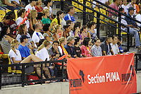 Fans during the Women's Professional Soccer (WPS) All-Star Game at KSU Stadium in Kennesaw, GA, on June 30, 2010.
