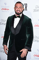 Robin Windsor<br /> arriving for the Float Like a Butterfly Ball 2019 at the Grosvenor House Hotel, London.<br /> <br /> ©Ash Knotek  D3536 17/11/2019
