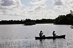 Canoers find peace and tranquility on Hells Bay Canoe Trail.