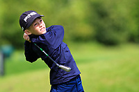 Matthew Conroy (Galway) on the 1st tee during the Connacht U12, U14, U16, U18 Close Finals 2019 in Mountbellew Golf Club, Mountbellew, Co. Galway on Monday 12th August 2019.<br /> <br /> Picture:  Thos Caffrey / www.golffile.ie<br /> <br /> All photos usage must carry mandatory copyright credit (© Golffile | Thos Caffrey)