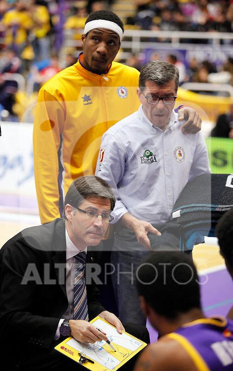 Blancos de Rueda Valladolid V CAI Zaragoza, Liga Endesa. Ewing Jr, first official game with the team. January 13, 2013 (ALTERPHOTOS/Victor Blanco)
