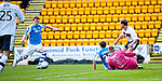 St Johnstone v Dundee.....02.01.13      SPL.Liam Craig scores waht proved to be the only goal of the game.Picture by Graeme Hart..Copyright Perthshire Picture Agency.Tel: 01738 623350  Mobile: 07990 594431
