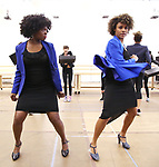 """LaChanze and Ariana DeBose during the press presentation for  """"Summer: The Donna Summer Musical"""" on March 8, 2018 at the New 42nd Street Studios,  in New York City."""
