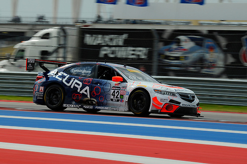 3-6 March, 2016, Austin, Texas, USA<br /> #42 Peter Cunningham, Acura TLX-GT<br /> © 2016, Jay Bonvouloir, ESCP