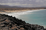 Rugged Atlantic Ocean coast at El Cotillo, Fuerteventura, Canary Islands, Spain