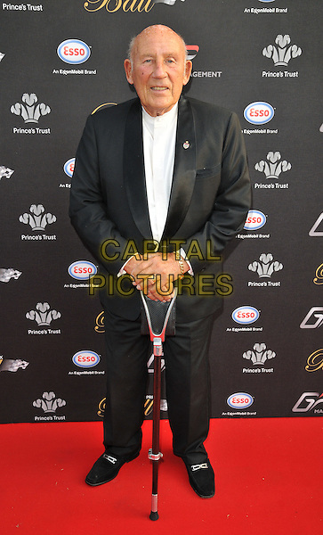 LONDON, ENGLAND - JULY 01: Sir Stirling Moss attends the Grand Prix Ball, The Hurlingham Club, Ranelagh Gardens, on Wednesday July 01, 2015 in London, England, UK. <br /> CAP/CAN<br /> &copy;CAN/Capital Pictures