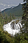 The Matthew River Falls at Ghost Lake, Cariboo, near Wells, B.C.