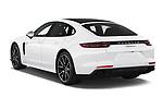 Car pictures of rear three quarter view of 2019 Porsche Panamera 4-E-Hybrid 5 Door Hatchback Angular Rear