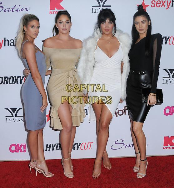 22 February 2017 - West Hollywood, California - Barbie Blank, Olivia Pierson, Natalie Halcro, Nicole Williams.  2017 OK! Magazine's Pre-Oscar Event held at Nightingale Plaza. <br /> CAP/ADM/BT<br /> &copy;BT/ADM/Capital Pictures