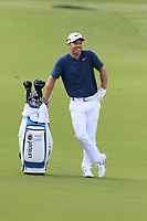 Paul Casey (ENG) waits to play his 2nd shot on the 14th hole during Thursday's Round 1 of the 2017 PGA Championship held at Quail Hollow Golf Club, Charlotte, North Carolina, USA. 10th August 2017.<br /> Picture: Eoin Clarke | Golffile<br /> <br /> <br /> All photos usage must carry mandatory copyright credit (&copy; Golffile | Eoin Clarke)