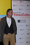 21.09.2012.The New York Times in collaboration with the Department of Arts of the City of Madrid presented, for the first time in Madrid, a series of TimesTalks at the Teatro Fernan Gomez, with prominent international personalities from film, theater and music in conversation with journalists from the New York Times. In the image Jeremy Irons (Alterphotos/Marta Gonzalez)