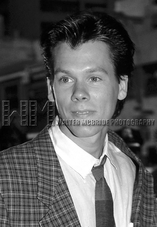 Kevin Bacon  in New York City in 1985.