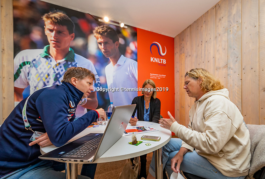 Rosmalen, Netherlands, 13 June, 2019, Tennis, Libema Open, KNLTB<br /> Photo: Henk Koster/tennisimages.com