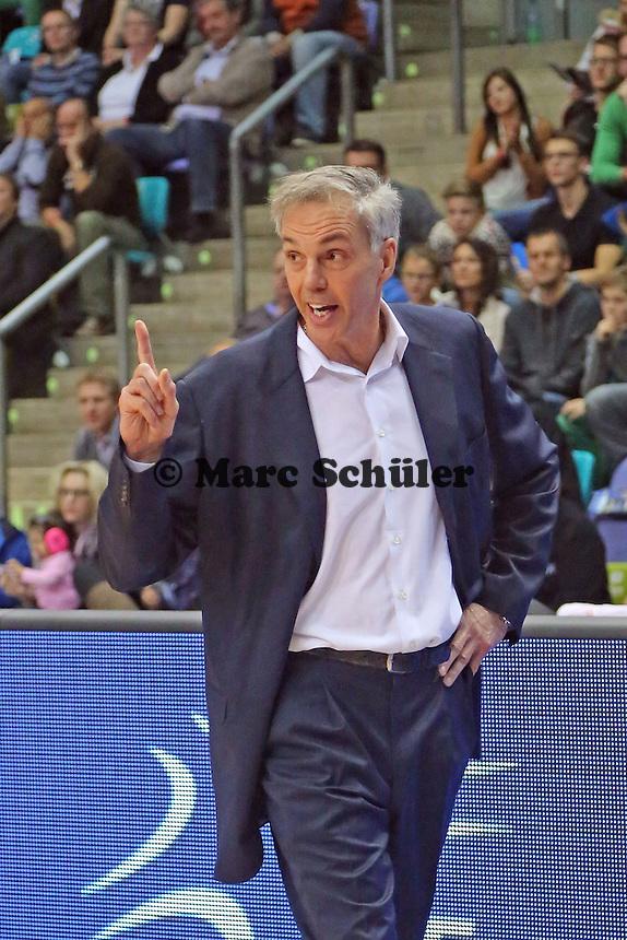 Trainer Gordon Herbert (Skyliners) - Fraport Skyliners vs. Phoenix Hagen, Fraport Arena Frankfurt