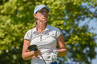 Karine Icher (FRA) watches her tee shot on 8 during round 2 of the 2018 KPMG Women's PGA Championship, Kemper Lakes Golf Club, at Kildeer, Illinois, USA. 6/29/2018.<br /> Picture: Golffile | Ken Murray<br /> <br /> All photo usage must carry mandatory copyright credit (© Golffile | Ken Murray)