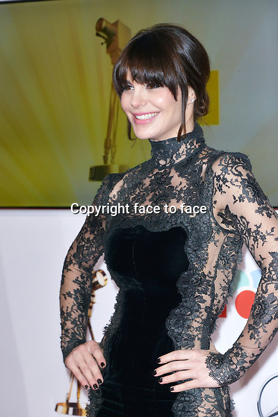 "Lucila Sola (wife of Al_Pacino) arriving for the 48th ""DIE GOLDENE KAMERA"" Awards at the Ullstein-Halle in Berlin, Germany, 02.01.2013...Credit: Timm/face to face"