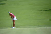 Anna Nordqvist (SWE) watches her putt on 10 during round 1 of the 2018 KPMG Women's PGA Championship, Kemper Lakes Golf Club, at Kildeer, Illinois, USA. 6/28/2018.<br /> Picture: Golffile | Ken Murray<br /> <br /> All photo usage must carry mandatory copyright credit (&copy; Golffile | Ken Murray)
