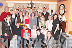 BIRTHDAY: Helping Sheila Hartnett (seated centre) celebrate her birthday on Saturday night at her home in Racecourse Road were her family and friends. They were Garry Murphy, Brian McCarthy, Margaret Doody, Maura Fitzgibbon, Andy Hartnett, Luke O'Regan, Mary ODowd, Catherine McCarthy, Maureen O'Donoghue, Theresa Dowd, Ann Griffin, Liam O'Dowd, Deirdre Ryan, Kevin O'Regan, Maria O'Regan, Kay O'Sullivan, Liam O'Sullivan, Louise Hartnett, Ann Sheehy, Martin Hartnett, Joanne Fitzgibbon, David McCarthy and Michelle McCarthy..
