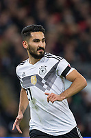 Ilkay Gundogan (Manchester City) of Germany during the International Friendly match between England and Germany at Wembley Stadium, London, England on 10 November 2017. Photo by Andy Rowland.