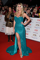 LONDON, UK. January 22, 2019: Christine McGuinness at the National TV Awards 2019 at the O2 Arena, London.<br /> Picture: Steve Vas/Featureflash