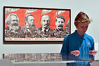 Tate Modern new exhibition, Red Star Over Russia, A Revolution in Visual Culture 1905-55, on the 100th anniversary of the October Revolution, a visual history of the Soviet Union, revealing how seismic political events inspired a wave of innovation in art and graphic design. <br /> Tate Modern gallery, London, England on November 07, 2017.<br /> CAP/JOR<br /> &copy;JOR/Capital Pictures /MediaPunch ***NORTH AND SOUTH AMERICAS ONLY***