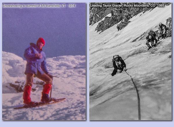 John snow climbing.