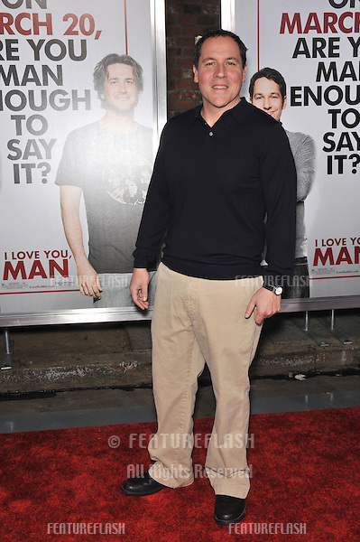 "Jon Favreau at the Los Angeles premiere of his new movie ""I Love You, Man"" at the Mann's Village Theatre, Westwood..March 17, 2009  Los Angeles, CA.Picture: Paul Smith / Featureflash"