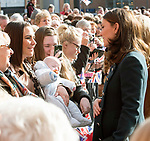 21.02.2018; Sunderland, UK: KATE MIDDLETON AND PRINCE WILLIAM<br /> visited The Fire Station, one of Sunderland&rsquo;s most iconic buildings, recently converted into a music and arts hub.  <br /> On arrival they did a walkabout meeting the locals gathered outside. <br /> Mandatory Photo Credit: &copy;Francis Dias/NEWSPIX INTERNATIONAL<br /> <br /> IMMEDIATE CONFIRMATION OF USAGE REQUIRED:<br /> Newspix International, 31 Chinnery Hill, Bishop's Stortford, ENGLAND CM23 3PS<br /> Tel:+441279 324672  ; Fax: +441279656877<br /> Mobile:  07775681153<br /> e-mail: info@newspixinternational.co.uk<br /> Usage Implies Acceptance of Our Terms &amp; Conditions<br /> Please refer to usage terms. All Fees Payable To Newspix International