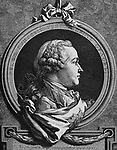 Grigoryevic Grigorij Orlov (1734-1783). Military and Russian statesman. Lover of Catherine the Great. Portrait. Engraving.