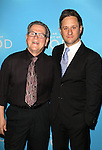 Tim Kazurinsky and Christopher Fitzgerald attend the Broadway Opening Night after party for 'An Act of God'  at Studio 54 on May 28, 2015 in New York City.