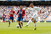 9th September 2017, Santiago Bernabeu, Madrid, Spain; La Liga football, Real Madrid versus Levante; Gareth Bale (11) of Real Madrid crosses the ball