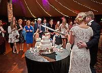 Jo & Thomas - Speeches & Cutting the cake