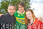 Sean McGowan, Philip Hayes and Liz McLoughlin watching the big game in the INEC on Sunday.   Copyright Kerry's Eye 2008