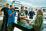 SOTT production with Henry Diltz at the Morrison Hotel Gallery at the Sunset Marquis Hotel, June 2018