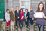 NEKD Mental Awareness: L- R : Hillary Egan, Farm Family Support Service , NEKD, Dan O'Connor, Kerry Mental Health, Robert Carey, Manager NEKD, Dee Keogh, Equality, NEKD, Tina Moriarity, TUS Supervisor, Bridie Mulvihill, Listowel Family Resource Centre & Lorraine Bowler, Equality Worker, NEKD.