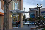 Seattle, University Village, High-end shopping center, University district neighborhood, suburban north Seattle, Washington State, Pacific Northwest, USA,