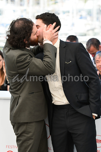 "25 May 2017 - Cannes, France - Josh Safdie, Benny Safdie. ""Good Time"" Photocall - The 70th Annual Cannes Film Festival. Photo Credit: Jan Sauerwein/face to face/AdMedia"