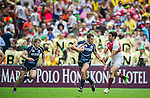 Scotland play England on Day 2 of the Cathay Pacific / HSBC Hong Kong Sevens 2013 on 23 March 2013 at Hong Kong Stadium, Hong Kong. Photo by Manuel Queimadelos / The Power of Sport Images