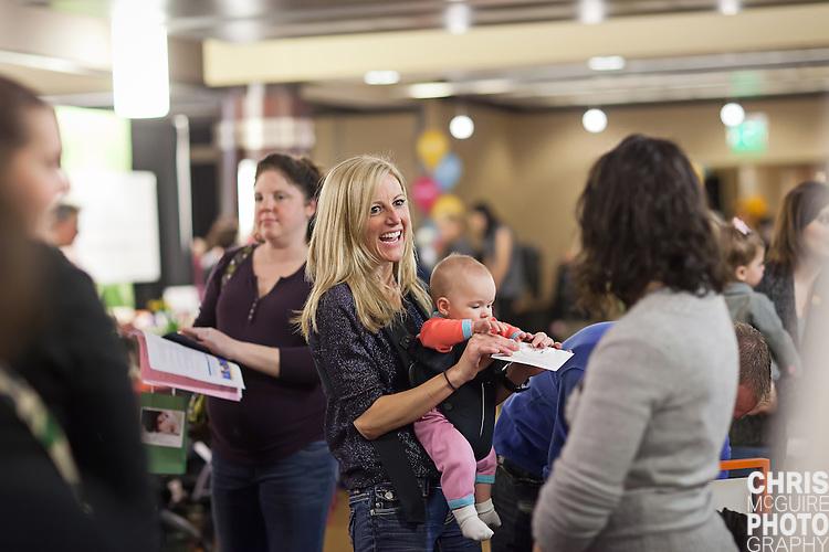 02/12/12 - Kalamazoo, MI: Kalamazoo Baby & Family Expo.  Photo by Chris McGuire.  R#13