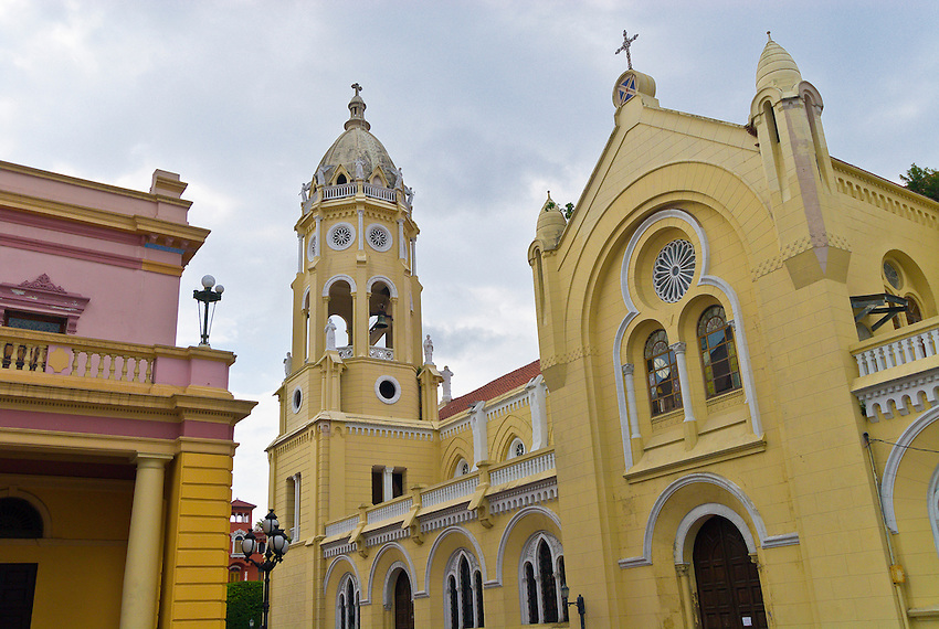 St. Francis of Assisi Church, Casco Viejo (Old City), San Felipe District, Panama City, Panama